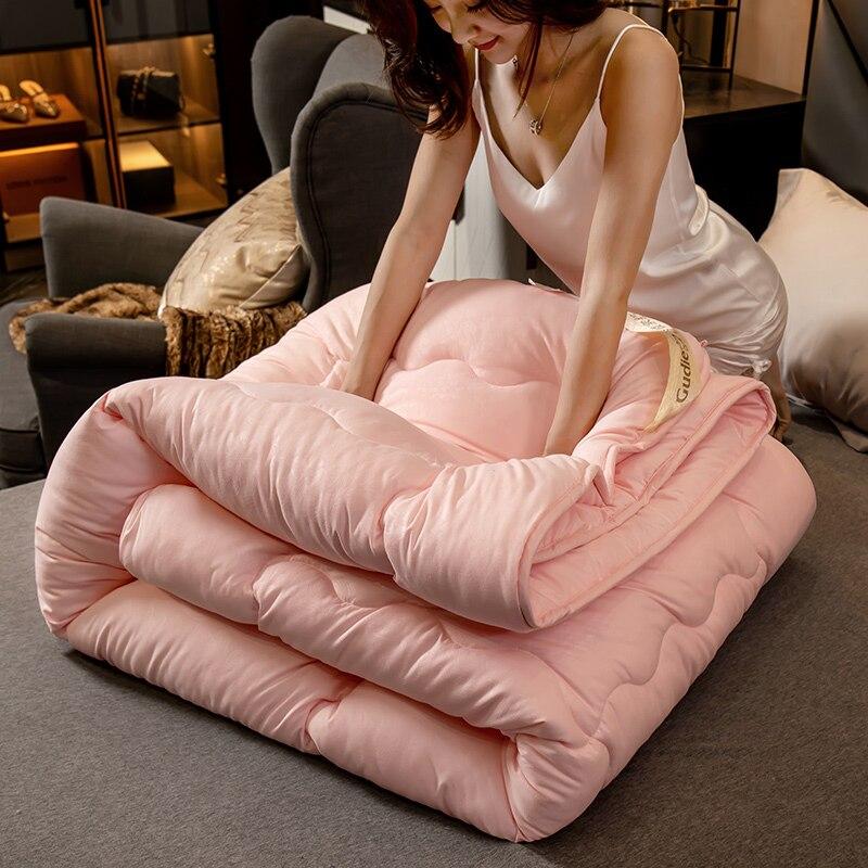High-grade Design Down Duvet Winter Summer Blanket Bedding Filler 3d Summer Down Quilt King Full Double Twin Size Comforter