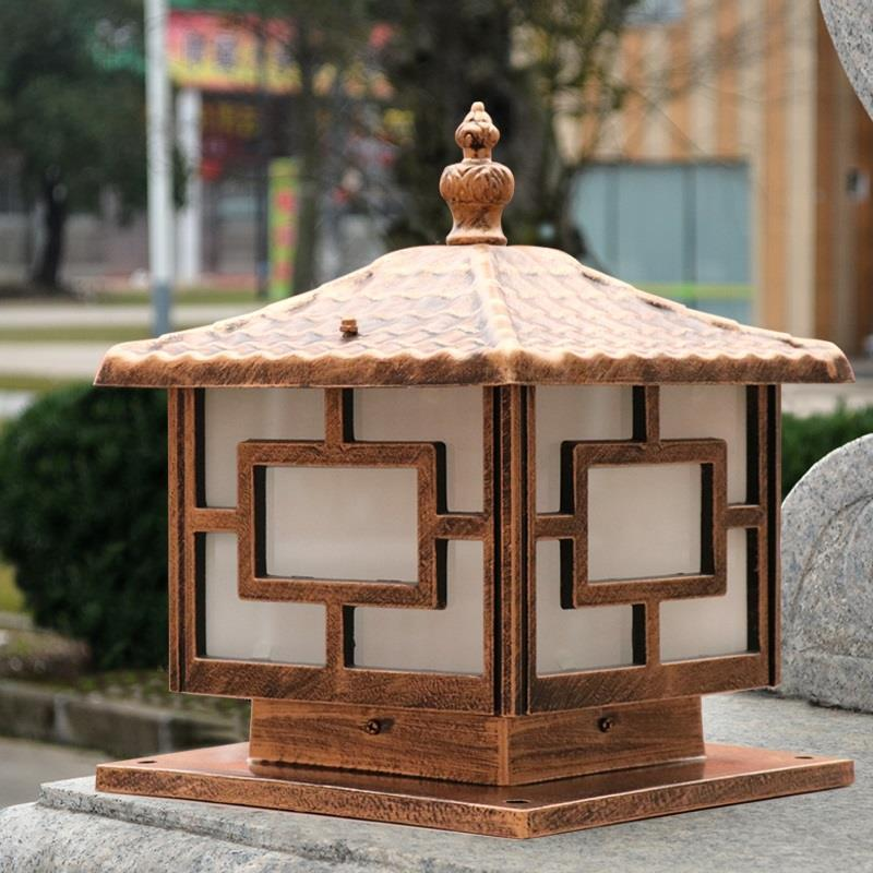 Lamp Post Lantaarnpaal Bollard Kerst Huisjes Light Projector LED Luminaire Exterieur Outdoor Spotlight Landscape Lighting enlarge