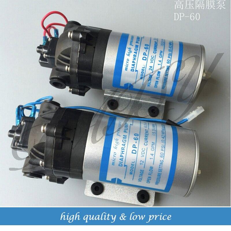 12 فولت/24 فولت مضخة الماء بالطرد المركزي غشائية دفعة المياه DP-60 البحرية/RV/قارب