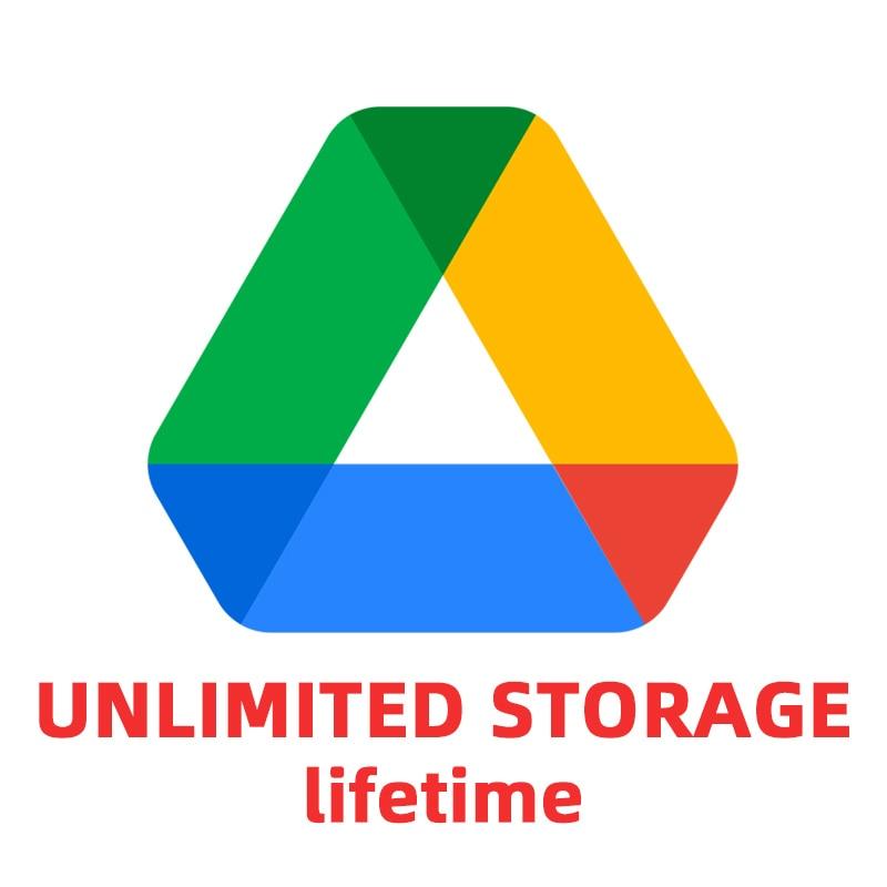 Google Server Storage Unlimited Capacity Service