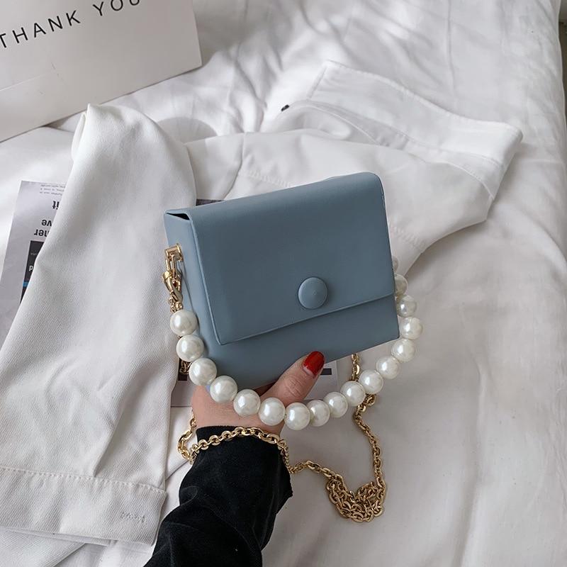 High-quality Korean Ladies Mini Chain Small Square Bag 2021 New Trendy Fashion Shoulder Bag Hot Sale Net Red Messenger Bag