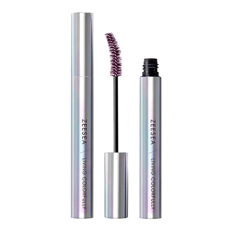ZEESEA 9 Colors Mascara Tear Makeup Shine Colourful Curling Waterproof Fast Dry Eyelash Extension Cosmetics косметика