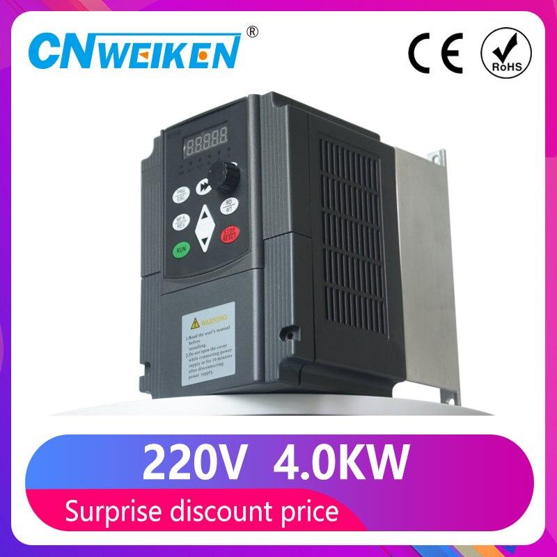 1 5kw 2 2kw 4kw 220v monofasico inversor entrada vfd 3 fase saida conversor de frequencia