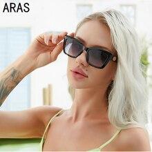 New Cat Eye Sunglasses Women 2021 Fashion Black Luxury Brand Designer Vintage Oversized Sun Glasses