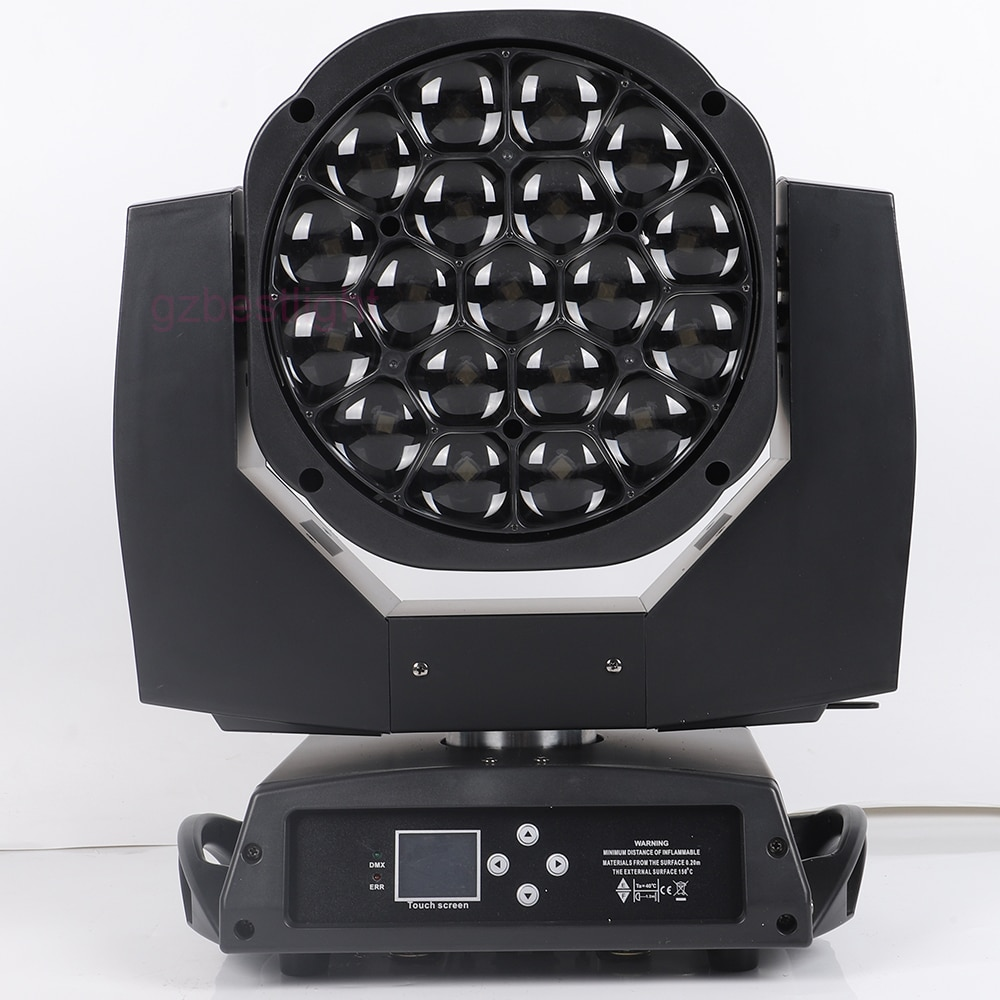 led matrix 25x12w CREE rgbw 4in1 beam wash 2in1 moving head light led bees eyes 19x15w beam moving head light