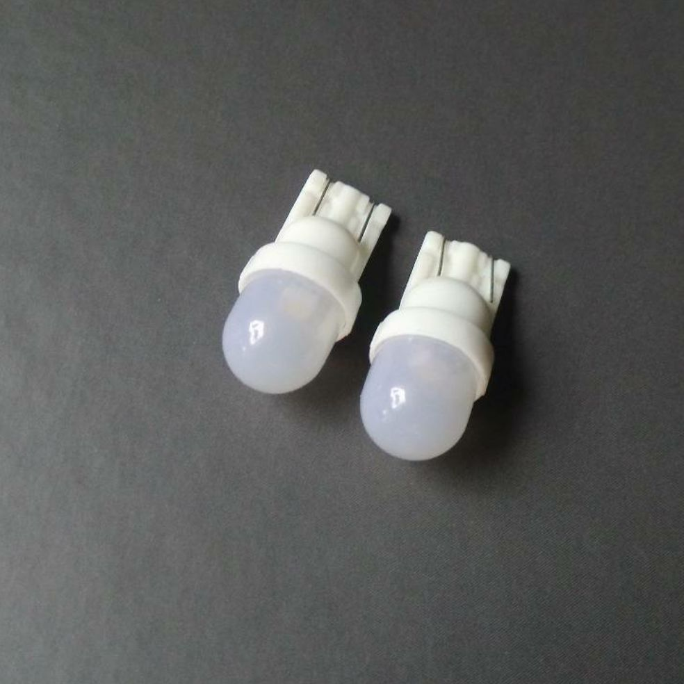 Wholesale Freeshipping,car  LED  Bulbs ,T10 W5W 194 1 LED  DC6.3v Frosted High brightness pinball led 6v