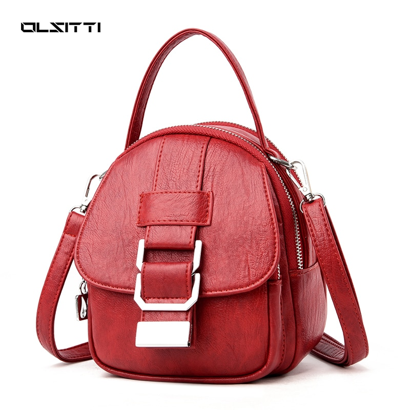 OLSITTI High Quality Pu Leather Shoulder Bag for Women 2021 New Luxury Designer Bag Clucth Wallet Wo