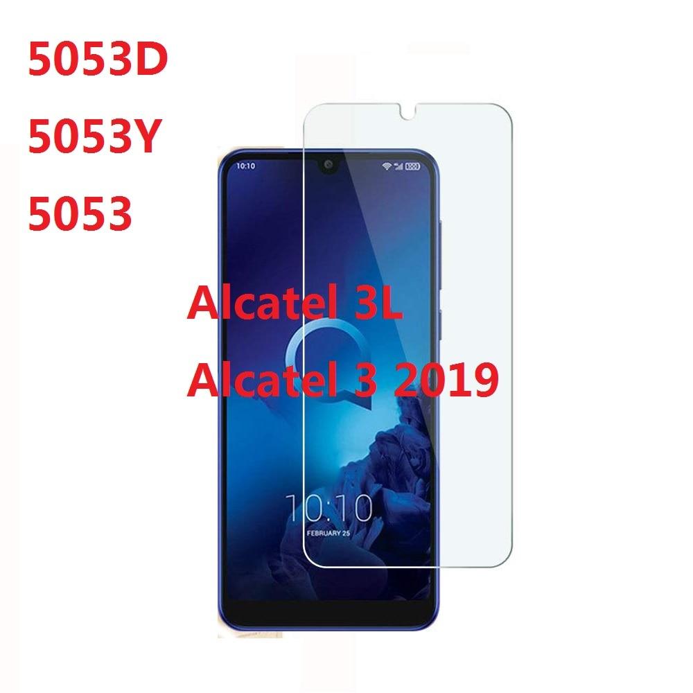 Película protectora de pantalla Premium para Alcatel 3 2019 5053D 5053Y 5053 9H 2.5D vidrio templado para Alcatel 3 3L 2019 de 5,94 pulgadas