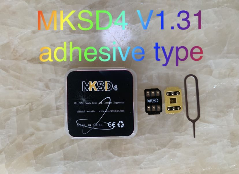 150pcs  MKSD black Unlocking Sim 3M Adhesive For iPh5s se SE2/6/7/8/PLUSX XS XR XS Max 11/12 Pro LTE 4G vsim sim gvsim geveypro enlarge