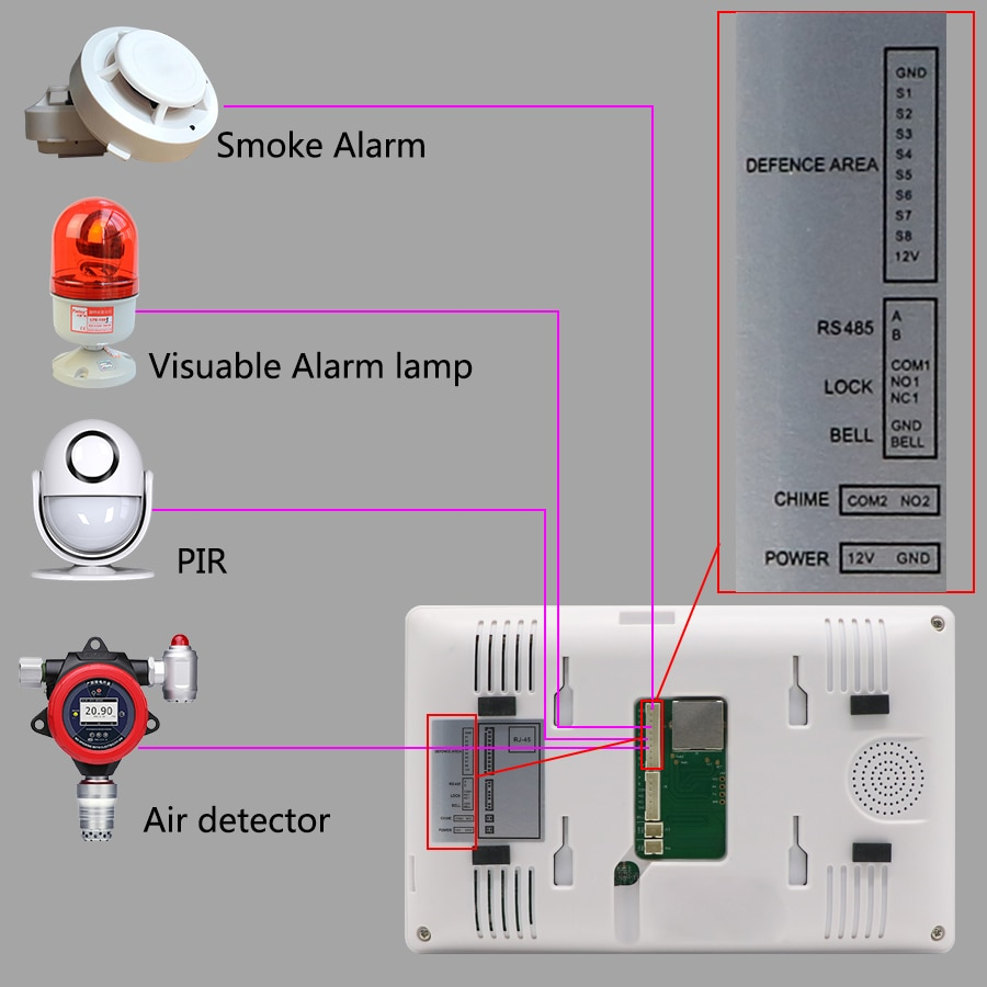 Doornanny WiFi Video Intercom System Video Door Phone With Finger Print Unlcok & IC Card & Motion Detection For Apartment enlarge