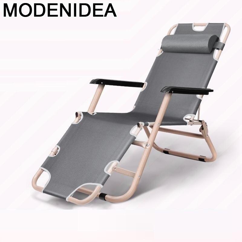 Silla reclinable Plegable para exteriores, Silla De Playa, acampada, Patio, jardín, Cama...