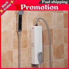 220V 3000W Electric Water Heater Instant Electric Indoor Shower Tankless Water Heater Kitchen Bathro