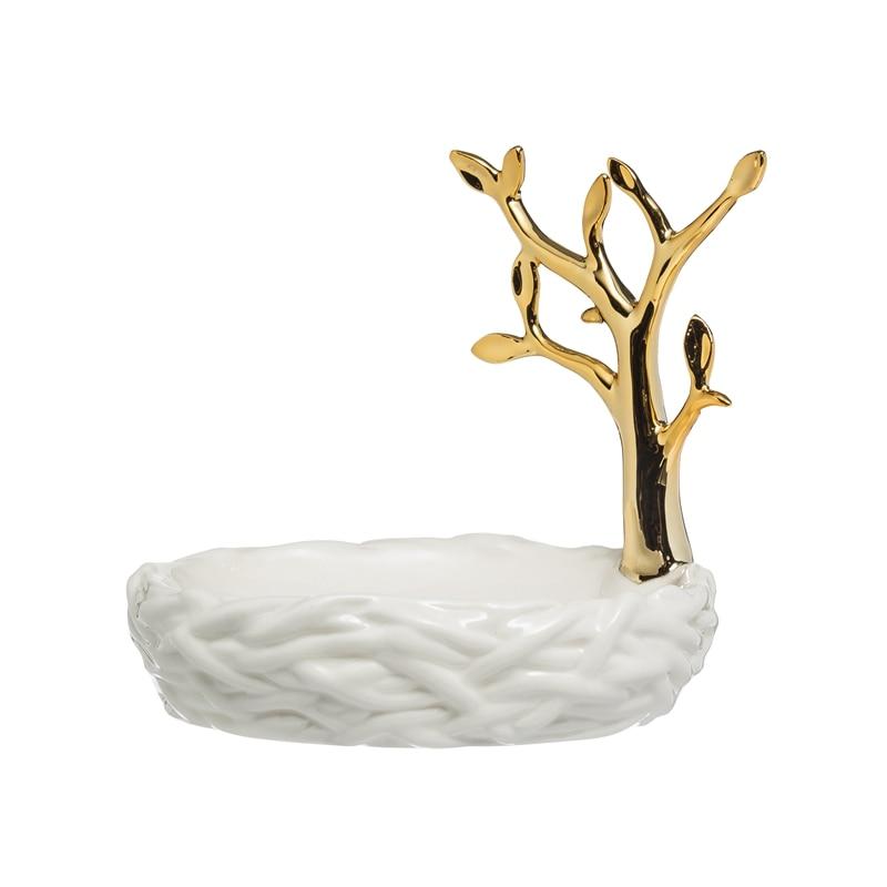 Luxury Porcelain Soap Dish Ceramic Dispenser For Bathroom Portable Travel Products Accessories Salle De Bain Bathroom Soap Dish enlarge