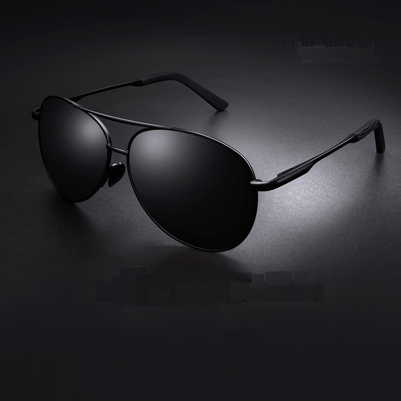 Aviation Metail Frame Polarized Sunglasses Men Color Changing Sun Glasses Pilot Male Day Night Visio