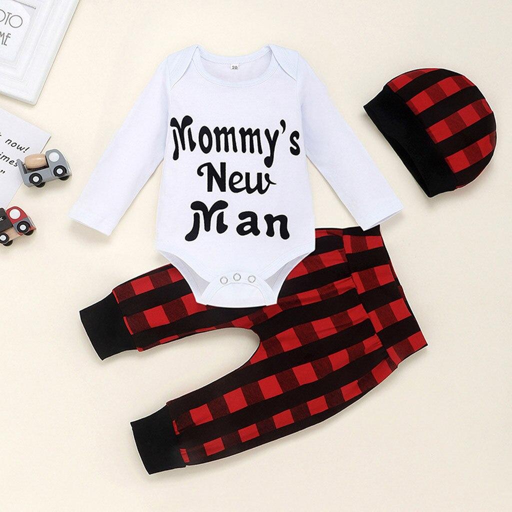 Macacão do bebê recém-nascido traje do bebê infantil meninos meninas manga carta impresso macacão roupas do bebê l1125
