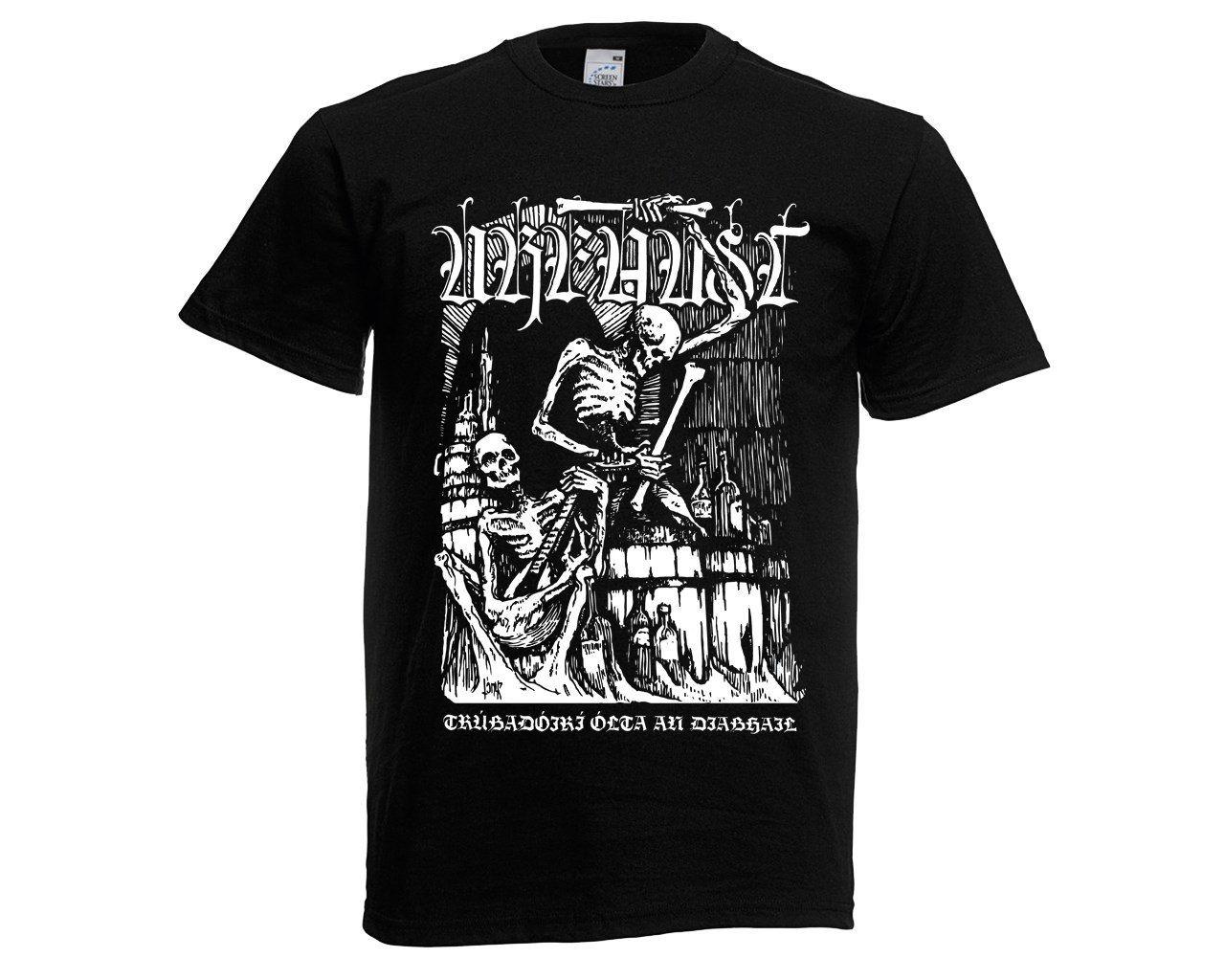 Urfaust t-shirt New! T-Shirt Novelty Cool Tops MenS Short Sleeve T shirt 100% Cotton Letter Printed TShirts top tee