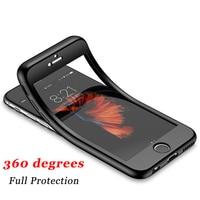 Силиконовый чехол с полным покрытием для iPhone 12 Mini, 360 pro Max, X, XS Max, XR, se, 8/7/6/6S Plus