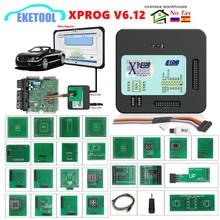 XPROG-M V6.12 V6.17 V5.86 V5.55 plein adaptateur automatique ECU puce programmation Xprog M 5.55 boîte métallique AUTH-0025 X-PROG autorisé