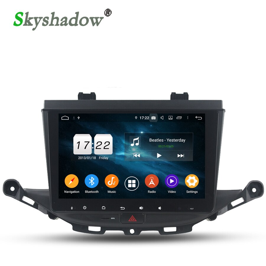 "DSP Android 9,0 4 GB 32 GB ROM Octa Core 9 ""IPS reproductor de DVD del coche GPS mapa RDS Radio wifi Bluetooth 4,2 para Opel ASTRA K 2016 de 2017"