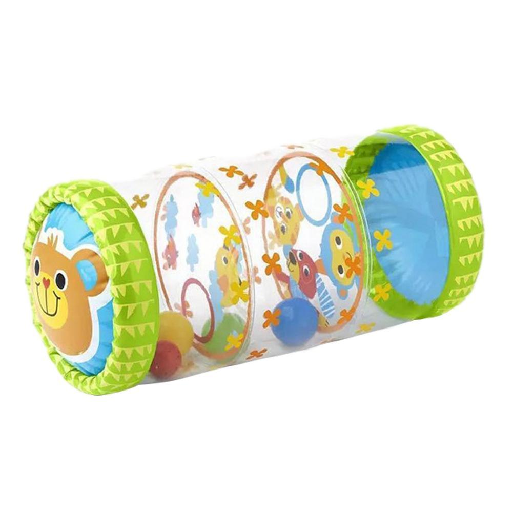 Детские ползунки надувные роликовые игрушки с колокольчиками одежда для малышей Надувные игрушки Fidget для ползания обучения Ранние обучающ...