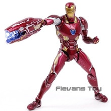 Avengers Infinity War Iron Man MK50 Mark XLX SHF PVC figurine à collectionner modèle jouet