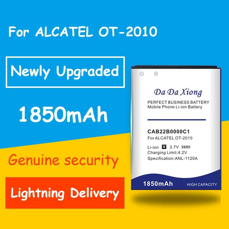 1850mAh batería de la batería CAB22B0000C1 CAB3010010C1 para ALCATEL One Touch OT-2010 OT-2010D OT-2010X OT-356 665X 1010D... 1030D... 2012D