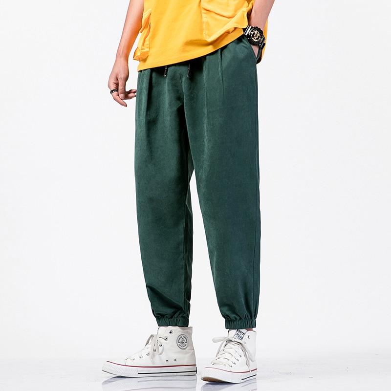 Men Trousers Joggers Casual Pants Men Korean Streetwear Harem Pants Men Pants Hip Hop Sweatpants 5Xl 2021 New