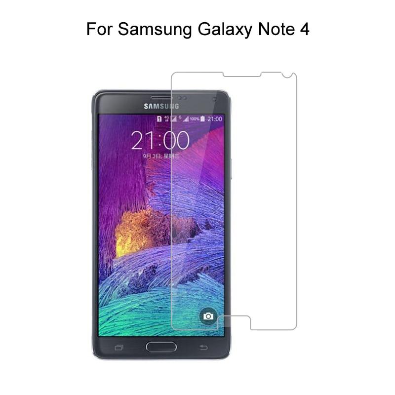 Vidro temperado para samsung galaxy note 4 note4 duos n9100 n910f filme protetor de tela de vidro para samsung galaxy note4