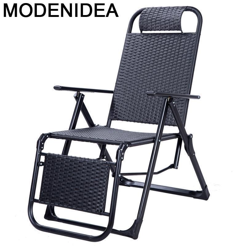 Bain-sofá Cama Plegable Para exteriores, muebles De jardín, Tumbona, Tumbona