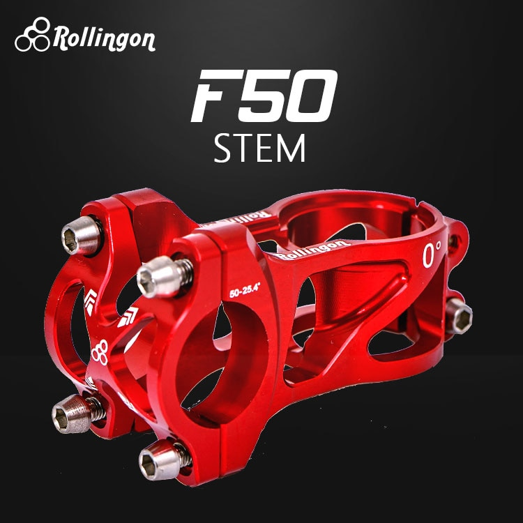 Rollingon-مقود التوازن للأطفال ، تركيب المقود ، 0 درجة ، C ، صنبور ، سكوتر ، ضوء التوجيه ، CNC ، طويل 50 مللي متر