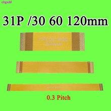 30 60 100 150 200 250 350 мм 0,3 мм Шаг Тип A MiPi 31 33 35 39 41 45 51 67 71 P FPC кабель Линия FFC позолоченный провод