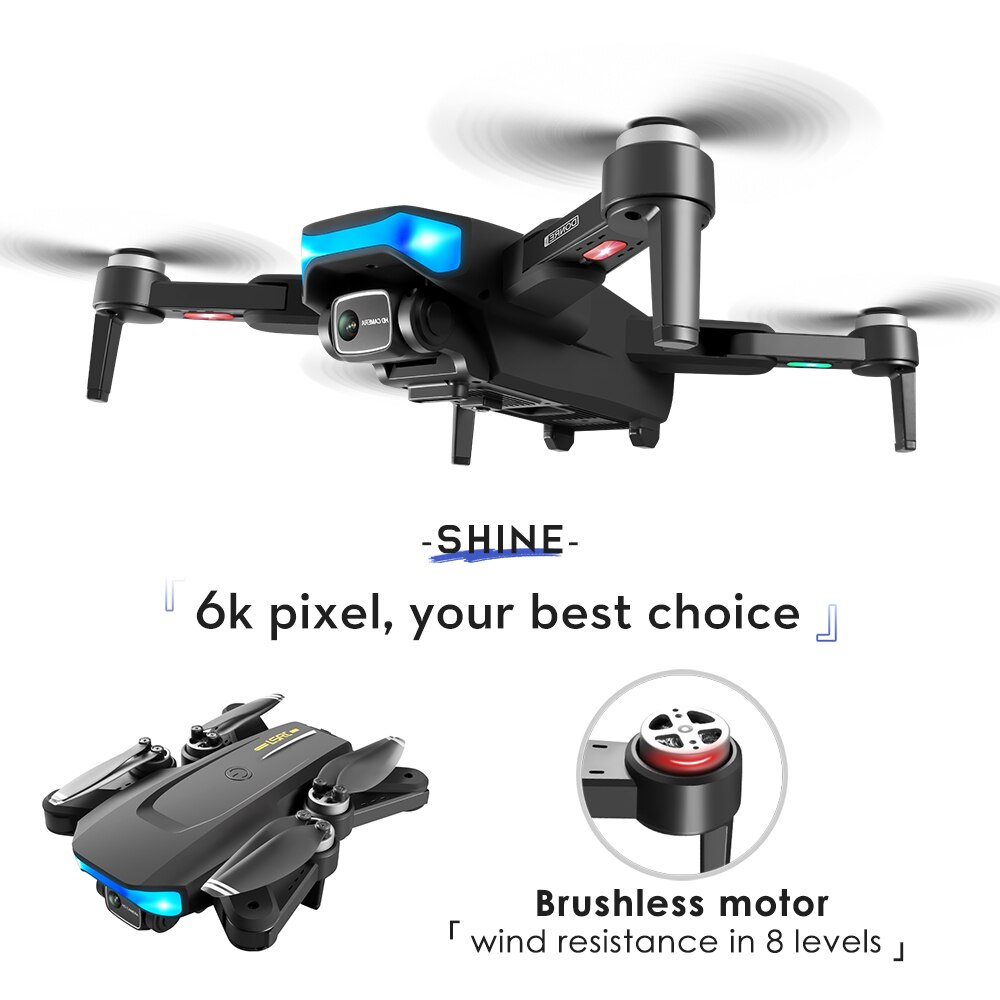 FEMA EIS Camera Drone 6K HD 28mins 1KM Long Distance 5G WiFi FPV Image Brushless LS38 quadcopter Dron 4K gps Professional enlarge