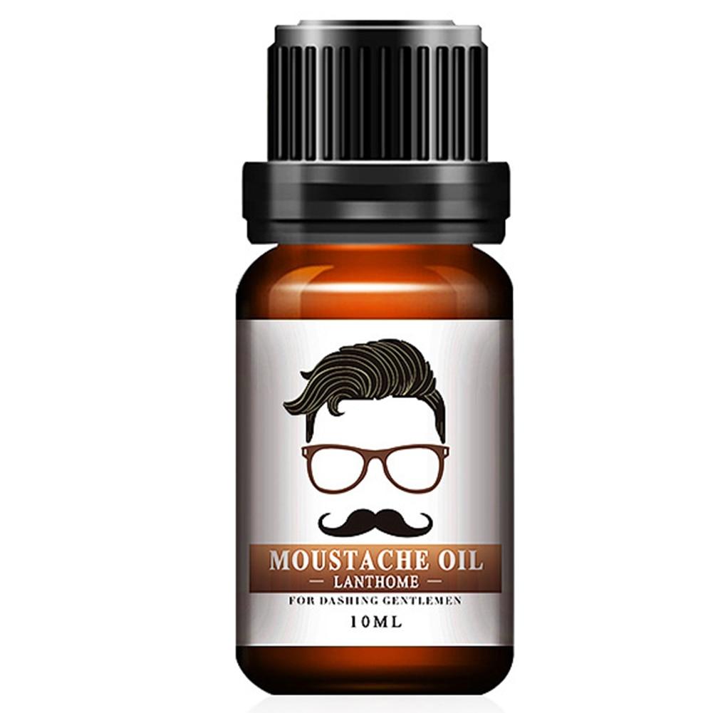 Aceite de barba hidratante nutritivo, 10ml, aceite esencial para suavizar el bigote,...