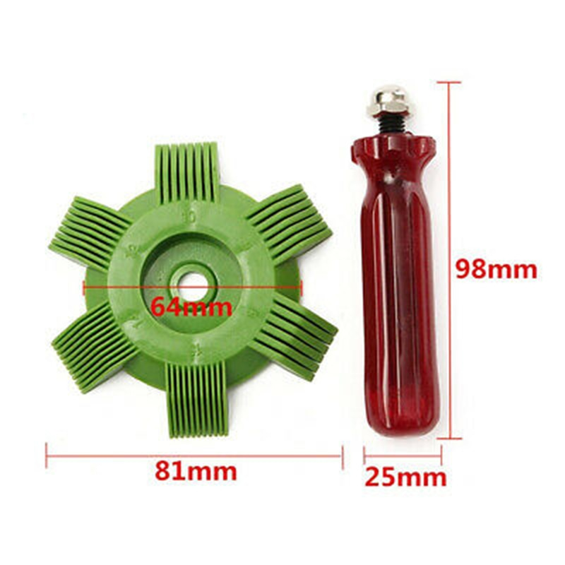 Купить с кэшбэком General Motors Air Conditioner Radiator Condenser Fin Repair Comb Cooler Air Conditioner Straightener Auto Cooling System Repair