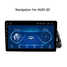 9 pouces Super mince écran tactile Android 10.0 GPS Navigation pour Audi Q5 autoradio 2010-2018 stéréo Bluetooth unité principale multimédia