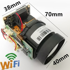 Camhi 2MP 5MP 10X Zoom 4.9-47mm Lens Wifi IP PTZ Camera Module CCTV Security System Wireless AP Onvif Audio TF Card Slot Webcam