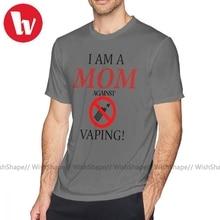 Kendrick Lamar T Shirt I Am A MOM Against VAPING T-Shirt Oversized Short-Sleeve Tee Shirt Print Men Basic Tshirt
