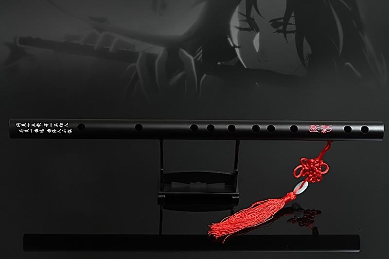 Die Untamed Yaoi 48cm Flöte Mo Dao Zu Shi Instrument Chen Qing Großmeister von Dämonische Anbau Hanfu Requisiten Wei wuxian Wangji