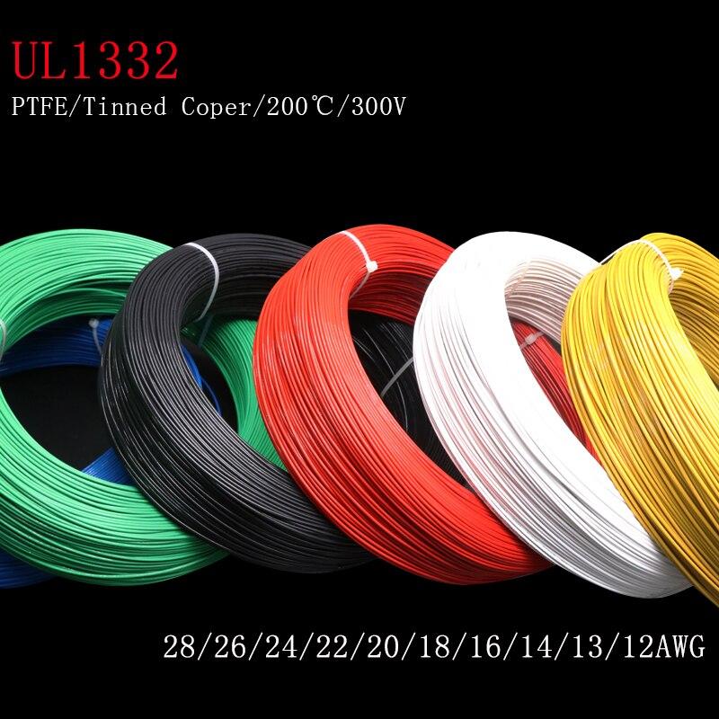 Alambre de PTFE FEP aislado de plástico, Cable electrónico de alta temperatura,...