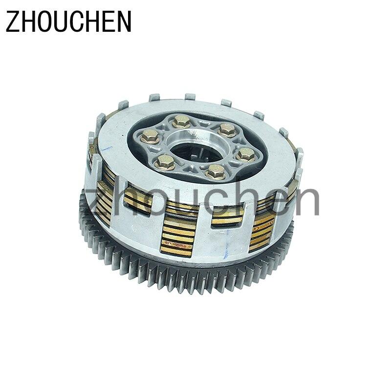 Nova ATV 70 Dentes de Embreagem Da Motocicleta de Alto Desempenho Do Motor Apto Para Motores de 250cc ZongShen Loncin Lifan LH-144