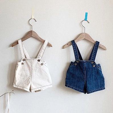 3568 Korean Baby Spring Cute Fashion Jeans With Belt Boys And Girls Fashion High Waist Denim Shorts 2020 Kids Short Jeans