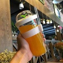 12oz 16oz creative foam tea cup, portable plastic cup, reusable plastic cup with straw, for bubble tea boba tea cup