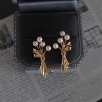 925 sterling silver earring hooks stud plugs women simple fashion jewelry making accessories for diy pearl earring jewelry