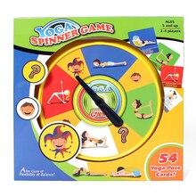 54 Yoga Pose Karte Bord Spiele Für Erwachsene Kinder Etwas Interessant Familie Unterhaltung Interaktives Spielzeug