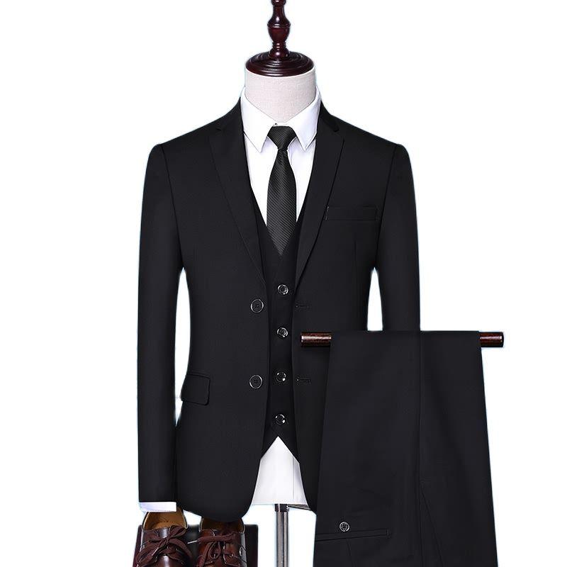 نقية اللون الرجال بزات رسمية حجم الآسيوية S متر L XL XXL 4XL ملابس رجالي تلائم الرجل النحيف الأعمال المهنية دعوى 4 اللون الذكور بدلة الزفاف