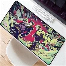 XGZ Jojo Adventure Keyboards Mat Rubber Gaming Mousepad Desk Mat Customized Laptop Gaming PC Large anime Mouse Pad  desk mat