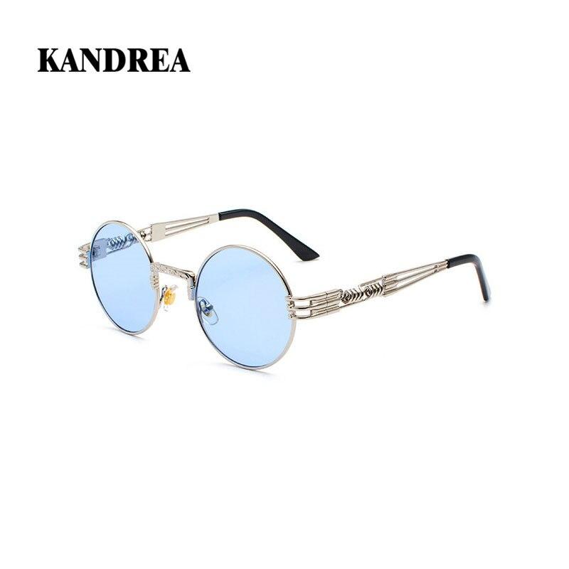 KANDREA 2020 NOVEDAD DE VERANO gafas de sol clásicas redondas Vintage gafas de sol para hombre y mujer gafas de marca de diseñador gafas de conducción de moda