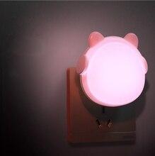 LED Night Light Animal Light Silicone Soft Cartoon Touch light Children Night Lamp Bedroom Light