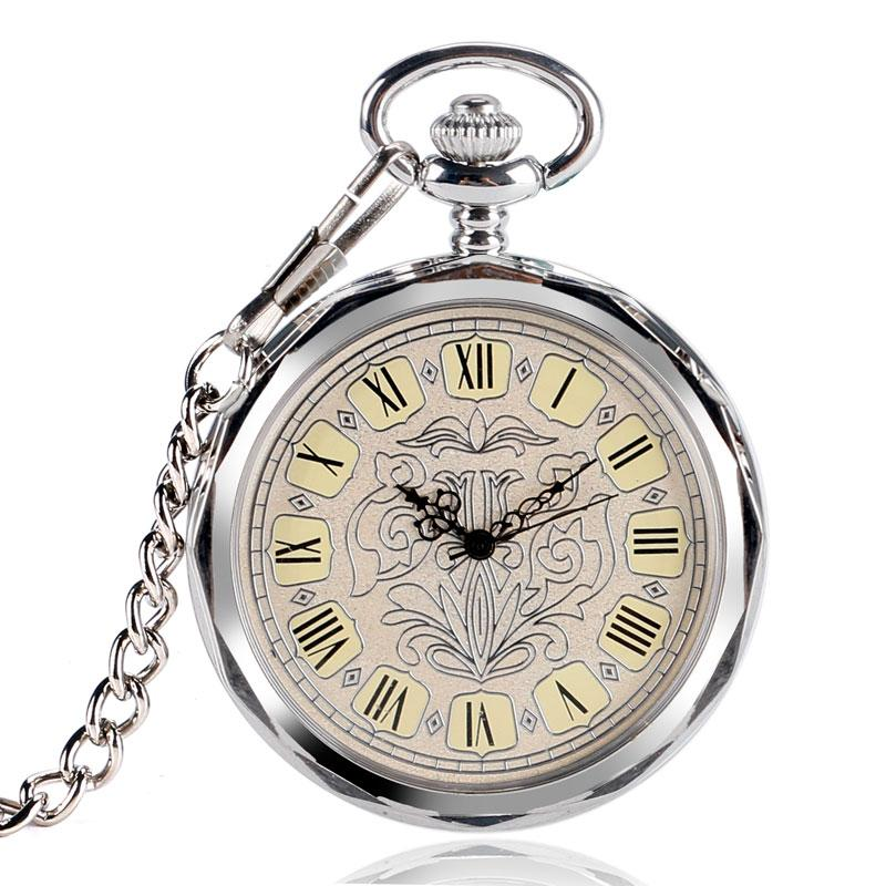 Vintage Hand Winding Mechanical Pocket Watch Classic Open Face Clock Pendant Chain For Men Ladies Relogio De Bolso Gift vintage hand winding mechanical pocket watch classic open face clock pendant chain for men ladies relogio de bolso gift
