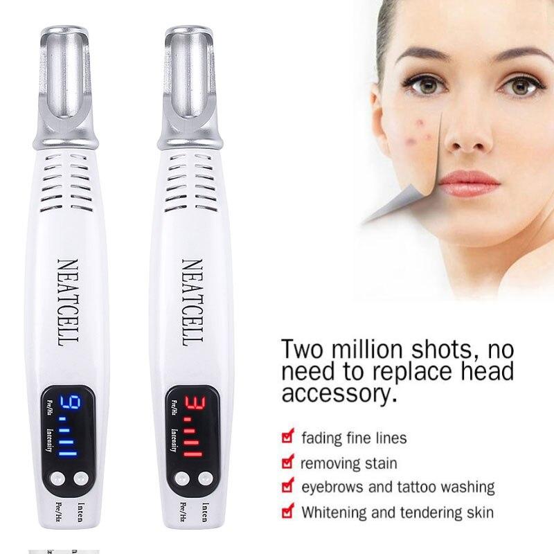 Электрическая плазменная ручка для удаления Крота, средство для удаления темных пятен, ЖК-дисплей, ручка для ухода за кожей, бородавка, бирк...